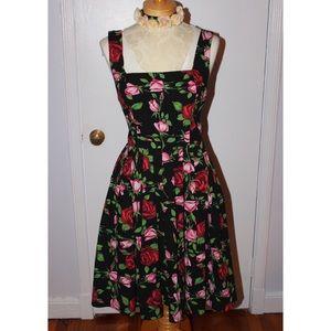 Betsey Johnson 50s style pin-up dress